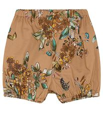 Christina Rohde Bloomers - Brun m. Blomster