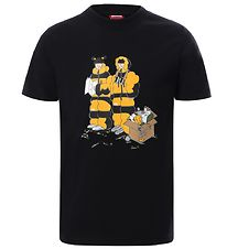 The North Face T-shirt - Graphic - Sort m. Print