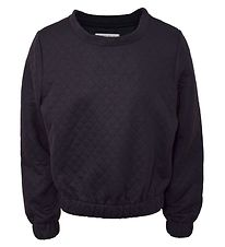 Hound Sweatshirt - Quilted - Sort