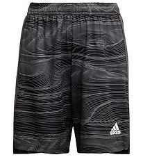adidas Performance Shorts - Con GK - Sort m. Mønster