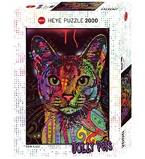 Heye Puzzle Puslespil - Abyssinian - 2000 Brikker
