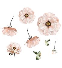 Thats Mine Wallstickers - Poppy Flower - Rosa