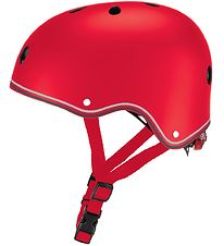 Globber Cykelhjelm - Primo Lights - Red