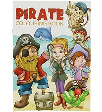 Malebog - Pirate Colouring Book - 16 Sider
