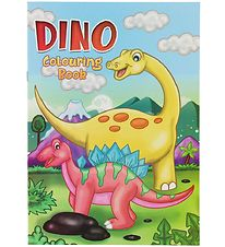Malebog - Dino Colouring Book - 16 Sider
