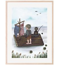 Thats Mine Plakat - 30x40 - Raft Fishing