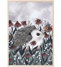 Thats Mine Plakat - 21x30 - Nosy Hedgehog