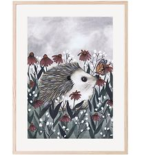 Thats Mine Plakat - 30x40 - Nosy Hedgehog
