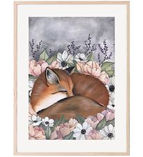 Thats Mine Plakat - 30x40 - Flower Field Fox