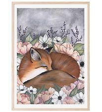 Thats Mine Plakat - 50x70 cm - Flower Field Fox