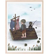Thats Mine Plakat - 50x70 cm - Raft Fishing