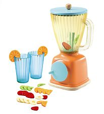 Djeco Blender til Smoothies - Orange/Blå