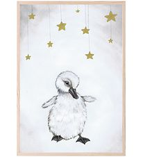 Thats Mine Plakat - 21x30 cm - The Beautiful Duckling