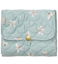Cam Cam Pusleunderlag - 86x44 - Quilted - Windflower Blue