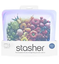Stasher Opbevaringspose - Stand-up - 1,66 l - Amethyst