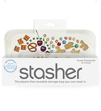 Stasher Opbevaringspose - Snack - 293,5 ml - Clear