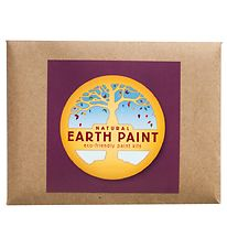Earth Paint Fingermaling - Lilla