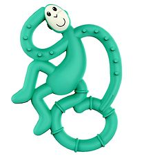 Matchstick Monkey Bidering - Mini Monkey Teether - Green