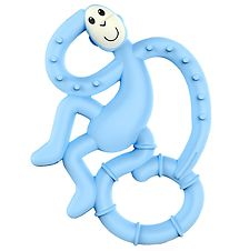 Matchstick Monkey Bidering - Mini Monkey Teether - Light Blue
