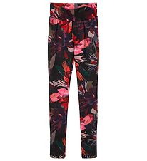 Name It Leggings - NkfRua - Withered Rose m. Blomster