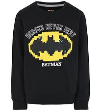Lego Batman Sweatshirt - Sort m. Logo