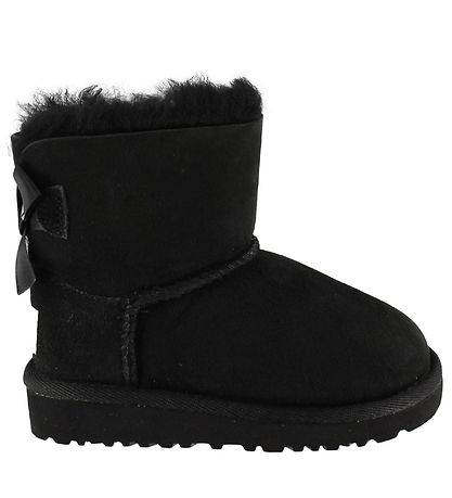 UGG Bamsestøvler - Mini Bailey Bow -  Sort