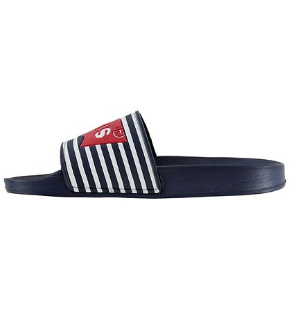 Levis Badesandaler - Pool - Navy m. Flag