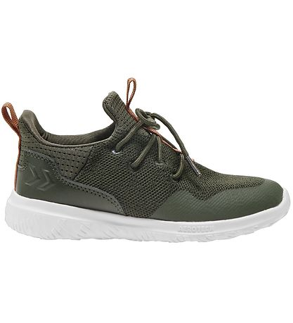 Hummel Sko - Actus Trainer Jr - Olive Night