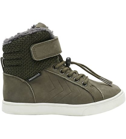 Hummel Vinterstøvler - Tex - Splash Jr - Olive Night