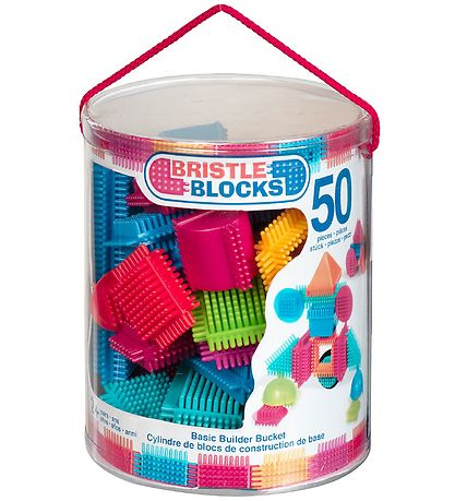 Bristle Blocks Klodser - 50 stk - Basic Builder