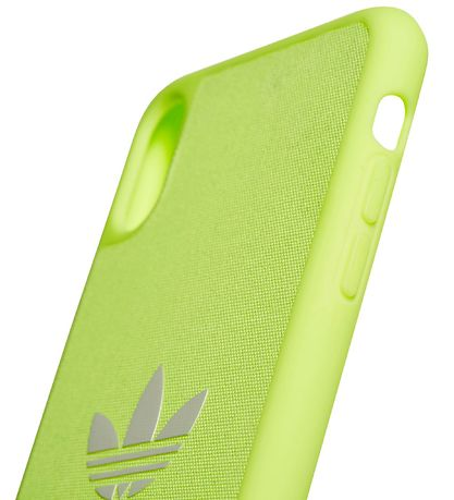 adidas Originals Cover - Trefoil - iPhone XS Max - Hi-Res Yellow