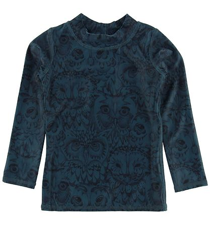 Soft Gallery Badebluse - Astin - UV50 - Orion Blue Owl