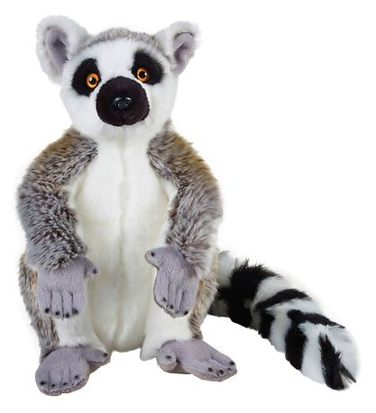 National Geographic Bamse - 30 cm - Lemur