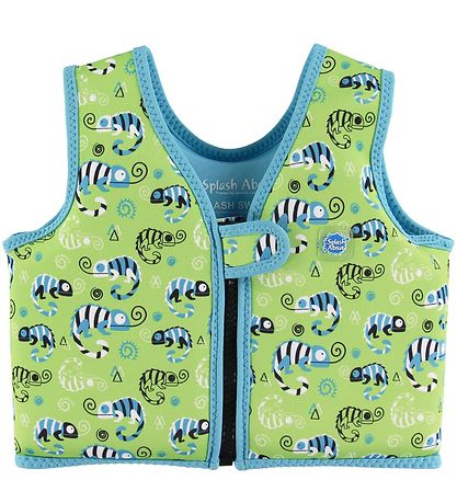 Splash About Badevest - Go Splash Swim - Green Gecko