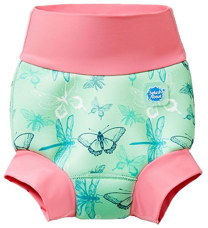 Splash About Blebadebukser - Happy Nappy - Dragonfly