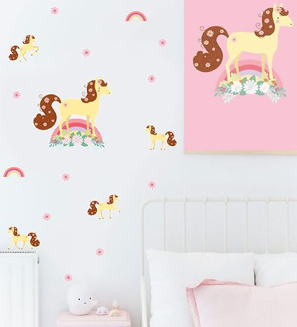 A Little Lovely Company Wallstickers - 35x50 cm - Horse