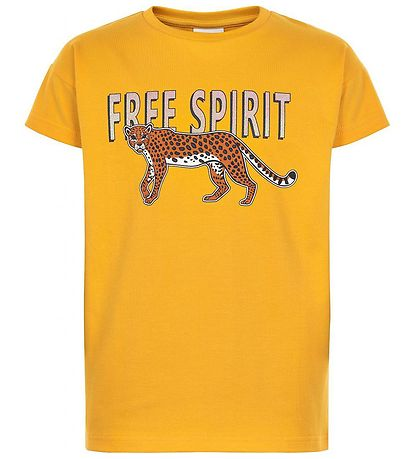 The New T-shirt - My - Golden Rod m. Tiger