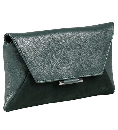 Markberg Clutch - Dinah Suede Mix - Dark Green