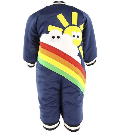 Stella McCartney Kids Dyneflyverdragt - Rainbow - Navy