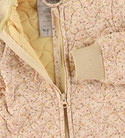 Wheat Termojakke - Loui - Soft Beige Flowers