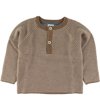 Mini A Ture Bluse - Uld - Kaare - Otter Brown