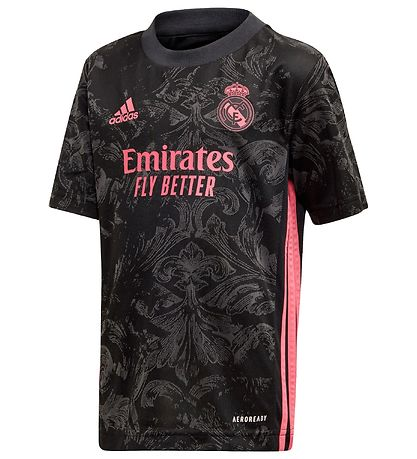 adidas Performance Fodboldsæt - Real Madrid - Sort