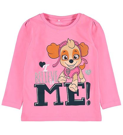 Name It Bluse - NmfPawpatrol - Morning Glory