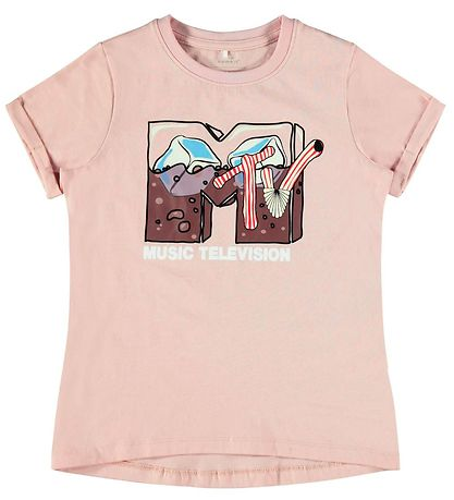 Name It T-shirt - NkfMTV - Peach Whip