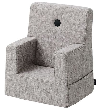 by KlipKlap Lænestol - Kids Chair - Multi Grey/Grey