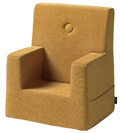 by KlipKlap Lænestol - Kids Chair - Mustard/Mustard