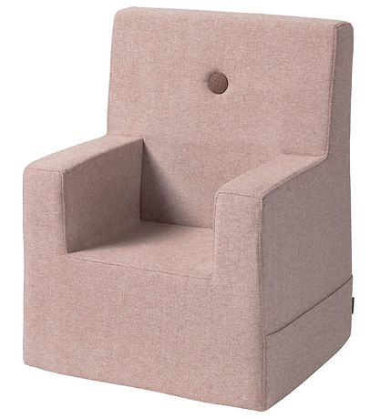 by KlipKlap Lænestol - Kids Chair XL - Soft Rose/Rose