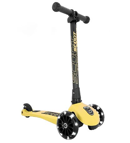 Scoot and Ride Highway Kick 3 - LED - Lemon