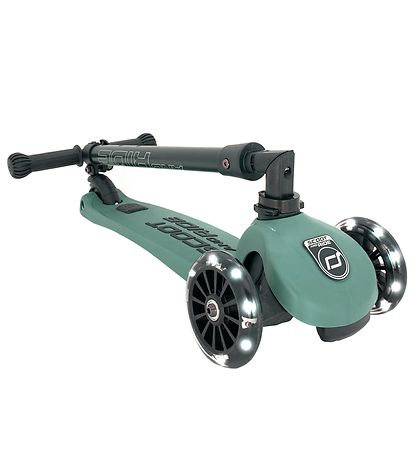 Scoot and Ride Highway Kick 3 - LED - Forest