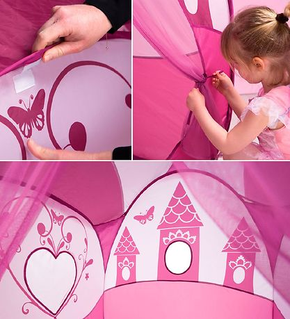 Ludi Legetelt - Pop-up - Prinsesse